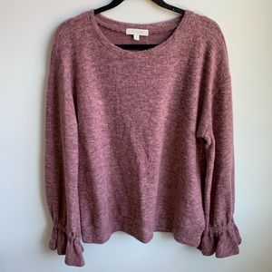 ANTHROPOLOGIE Eri + Ali Long Sleeve Sweater NWT